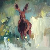 Hare in the Meadow