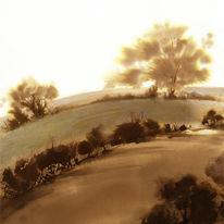 Sepia Landscape