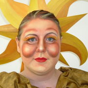 THE SUN FACE PAINTING