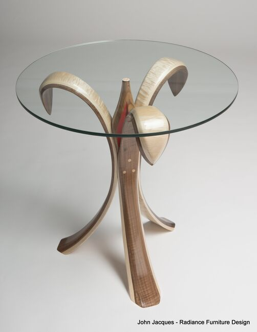 Flower Coffee Table.John Jacques Fine Furniture Design Flower Table No 2