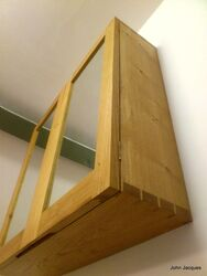 Dovetailed Bathroom Cabinet Detail