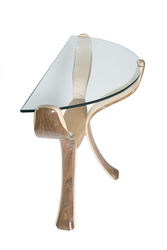 helenu0027s console flower table