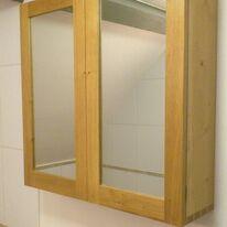 Dovetail Oak Bathroom Cabinet