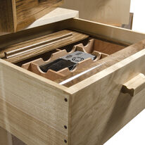 Drawer fitted English walnut Humidor