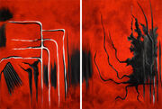 Red 1 (Diptych)