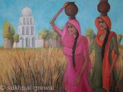 Punjabi Village Girls