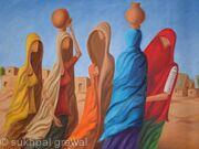 Thar Village girls