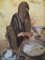 Rural punjabi woman