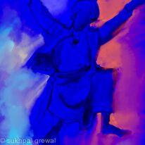 Bhangra dancer
