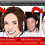 Incredible Likeness Custom Caricatures From Photos Gifts