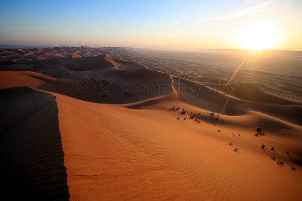 Dunes near Sweihan, UAE