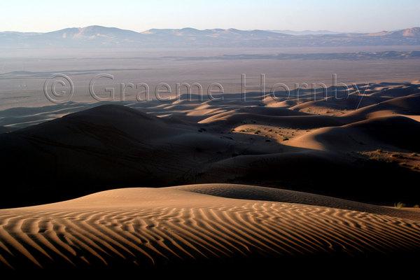 Dunes at sunrise, UAE