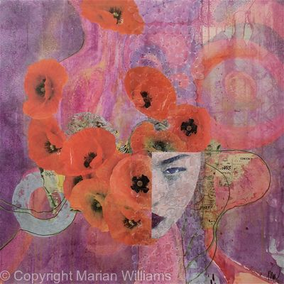 Poppies ( SOLD )