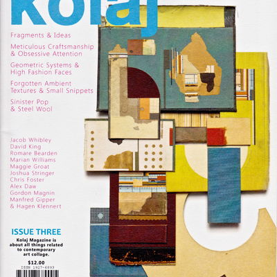 Cover KOLAJ Magazine, Issue three