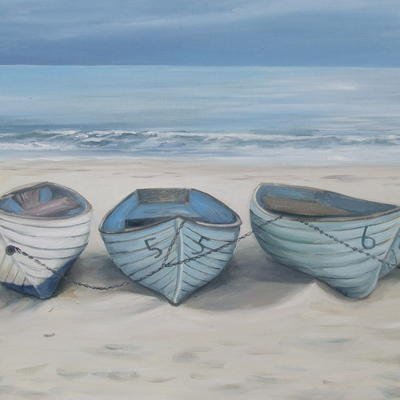 Boats at Durly Chine