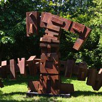 Sculpture in Corten Steel