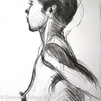 Mirinda, head, shoulders, side
