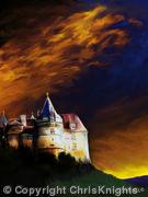 Chateau au Crepuscule
