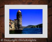 Collioure Bell Tower (Framed)