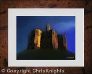 Warkworth Castle (Framed)