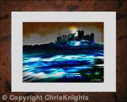 Bamburgh Castle East (Framed)