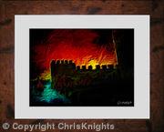 Castle Siege (Framed)