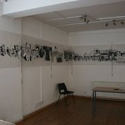 'Transparency' at 'Spending Review' show in York, July 2011, curated by Graham Martin