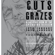 Cuts and Grazes Exhibition poster