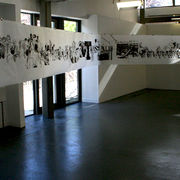 'Transparency' in MA show, Wimbledon College of Art, 2010