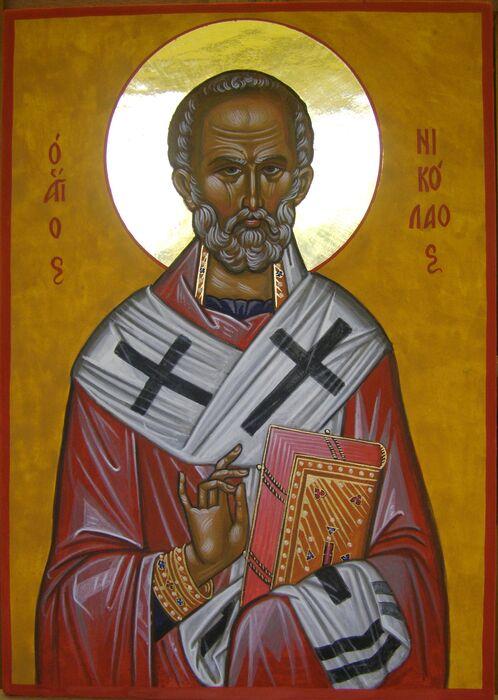 Byzantine Saint Nicholas