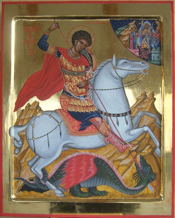 Byzantine Saint George Icon