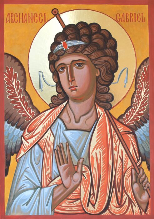 Byzantine Style Archangel Gabriel