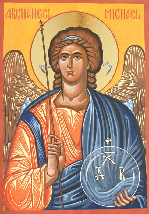 Byzantine Archangel Michael Icon