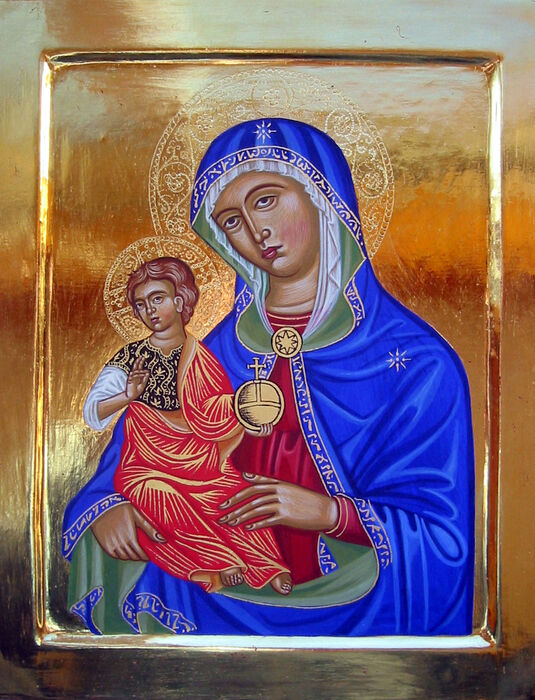 Trecento style Italian Madonna and Child