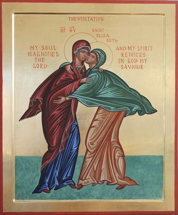 Byzantine Visitation Icon