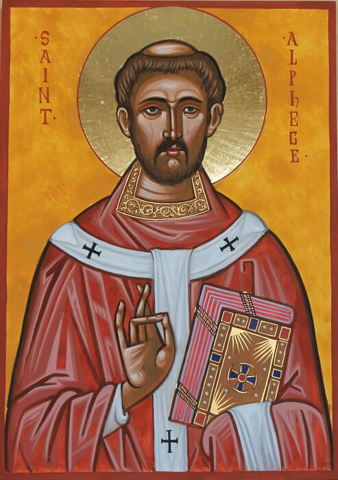 Saint Alphege Icon