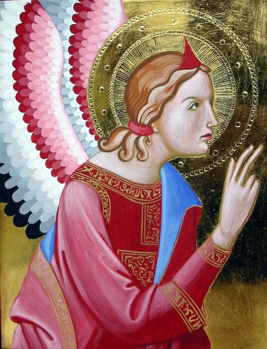 Italian style Archangel Gabriel