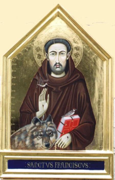 Trecento Italian style St Francis of Assisi