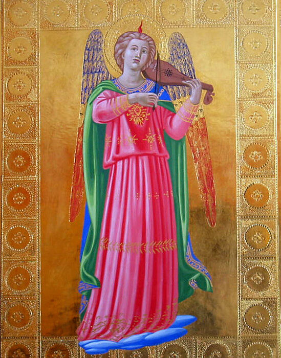 Musician Angel (after Fra Angelico)