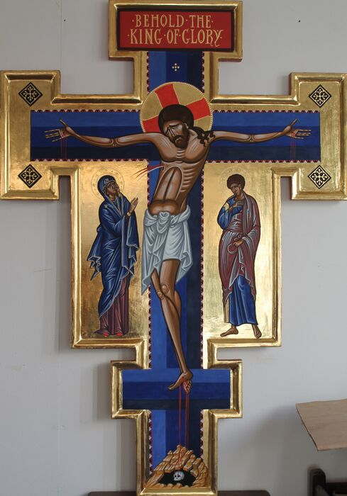 Italo Byzantine Cross for St Augustine's Church Tooting