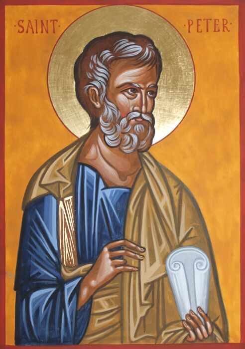 Byzantine St Peter Icon