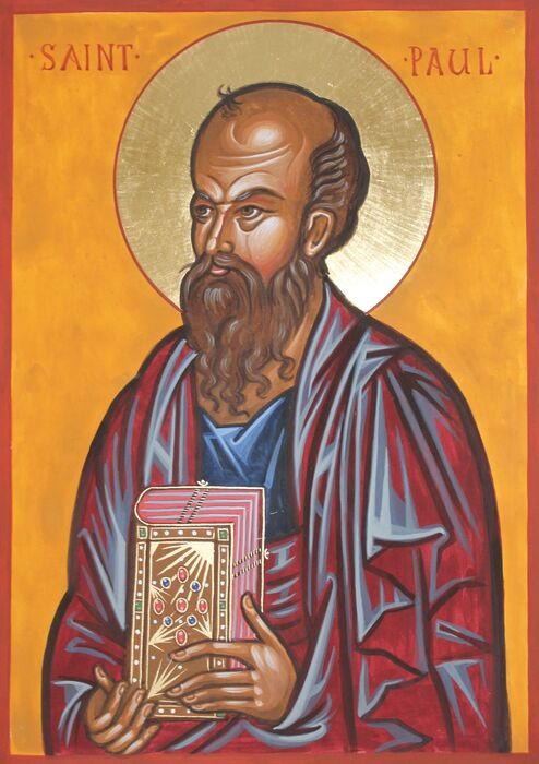 Byzantine St Paul Icon