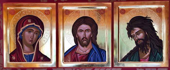 Byzantine Style Deisis