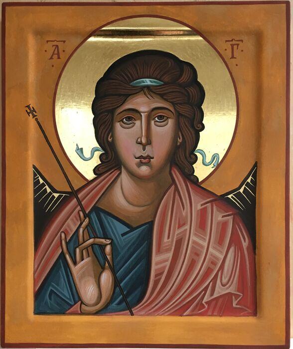 Byzantine Archangel Gabriel Icon