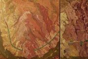 Thompson River Canyon - 6, diptych