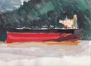 Tanker In Burrard Inlet
