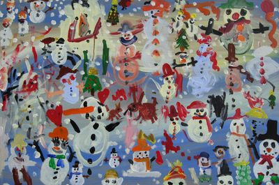 DECEMBER-The snowman's Christmas party
