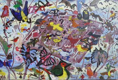 JANUARY-The bird table