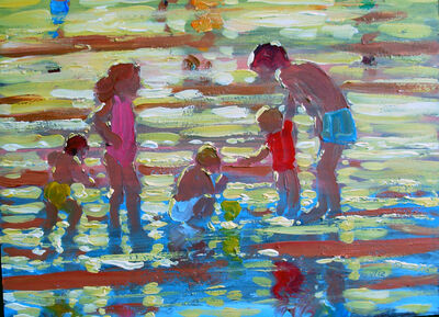 CHILDREN ON THE BEACH 2