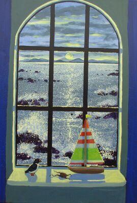 VIEW THROUGH A WINDOW - Isle of Skye